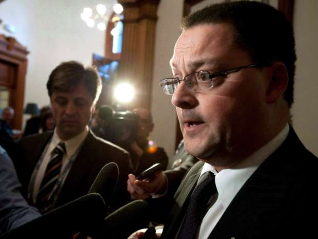 Donald Arseneault said there was no way the industry could proceed right now because of the situation left by the previous provincial government