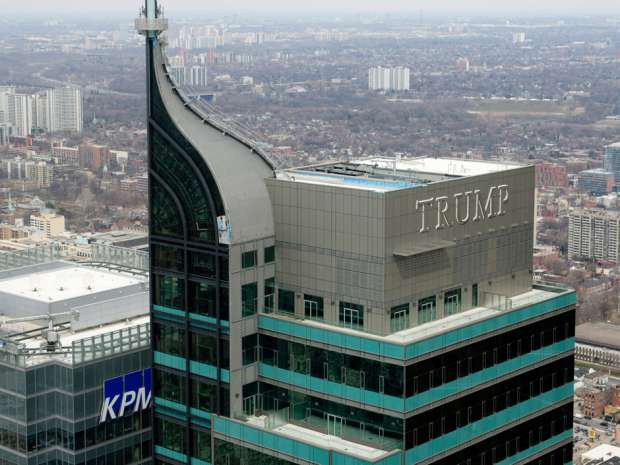 "Toronto's Trump Tower, a 65-story hotel and condominium building in the city's financial district, has found a potential buyer and the sale will conclude ""hopefully shortly."""