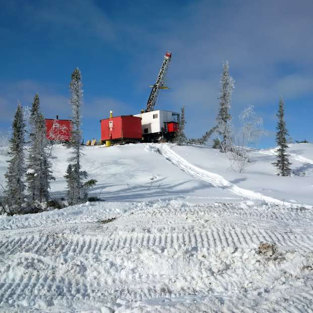 Winter Drilling at Terrax's Yellowknift NWT gold project