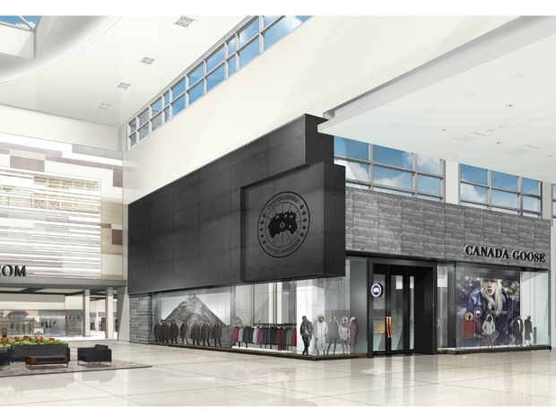 Canada Goose unveils first flagship retail locations set to open Fall 2016, including this concept art at Yorkdale Shopping Centre, Toronto, Ont.
