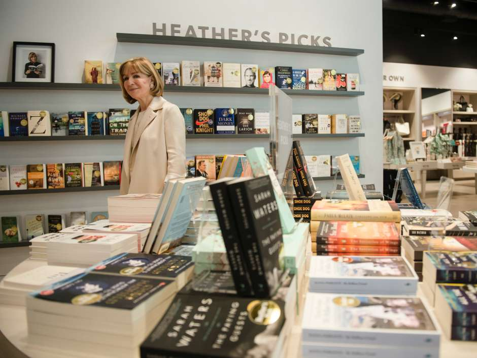 Heather Reisman, founder and CEO of Indigo Books, at the new Sherway Gardens store in Mississauga.