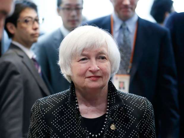 Federal Reserve chair Janet Yellen. Market expectations of a June hike haven risen substantially this month, following the hawkish tone of the Federal Open Market Committee's April minutes.