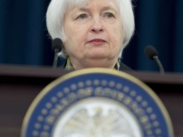 Federal Reserve chair Janet Yellen. The Fed said in its April meeting minutes that a June rate hike is likely if the economy continues to improve.