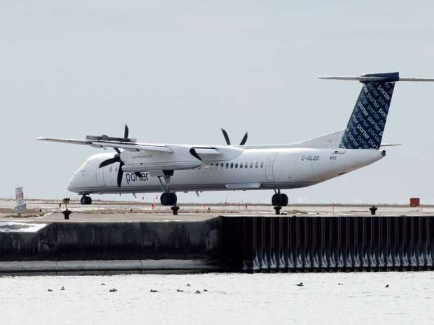 "The chairman of the Niagara regional council recently met with Porter Airlines CEO Bob Deluce and pitched him on the idea of making the Niagara District Airport into the airline's ""service centre and aircraft parking lot."""