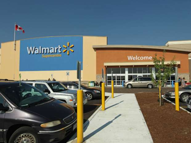 One of Walmart Canada's locations.