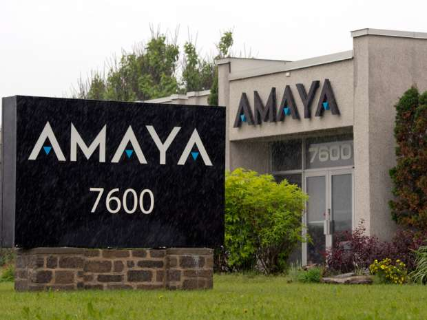 Amaya Gaming Group's headquarters in Montreal.