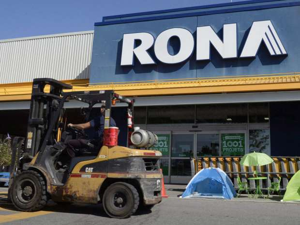 Lowe's says it has received approval under the Investment Canada Act for the acquisition.