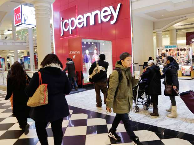 J.C. Penney's disappointing sales signal that shoppers across the income spectrum are pulling back on purchases of apparel and other discretionary goods.