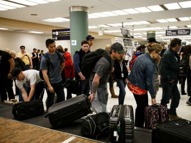 Air Canada said the airline has opened a separate counter in the Edmonton International Airport with additional staff to accommodate passengers traveling as a result of the fire.