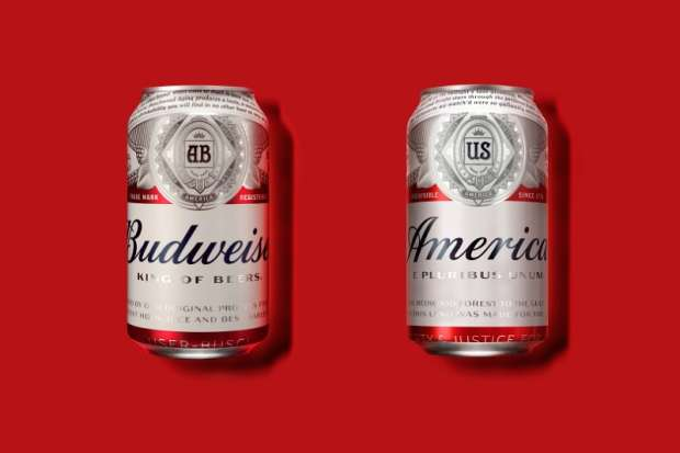 "Budweiser, now owned by Belgium's AB Inbev, will rename its beer ""America"" during the summer of 2016 and alter its labels with images and phrases affiliated with the republic."
