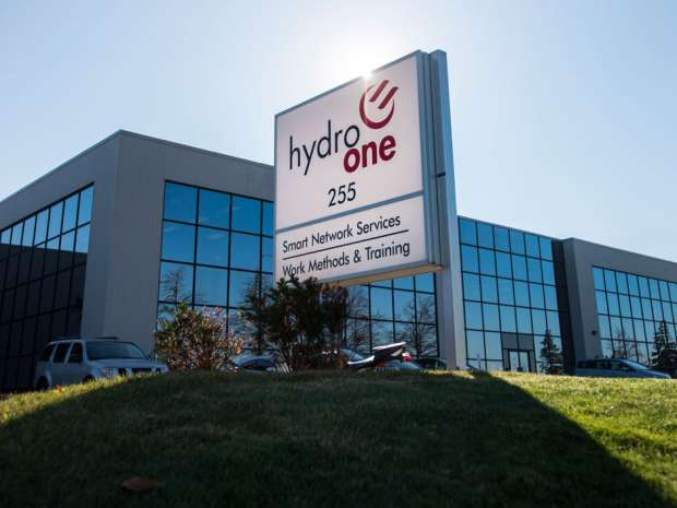 Hydro One says a mild winter and storm-related costs weakened its financial results in the electric utility's first full quarter as a publicly traded company.