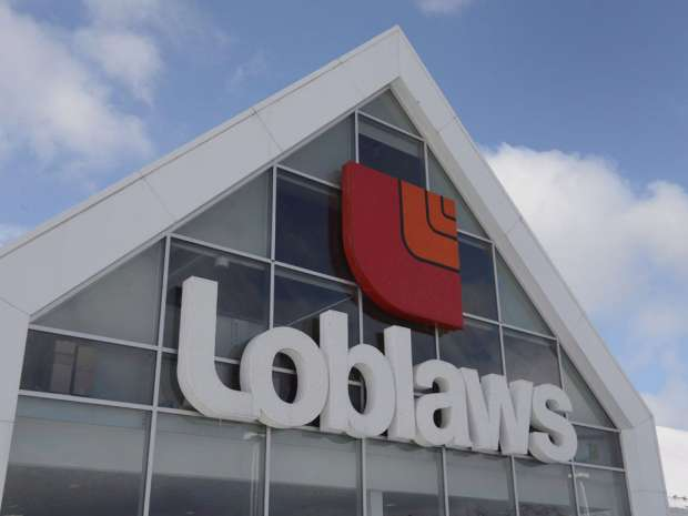 Loblaw is reporting double-digit increases to its profit and adjusted earnings for the first quarter.
