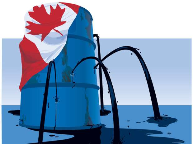 Canada's oil production far exceeds our needs but only a trickle makes it east.
