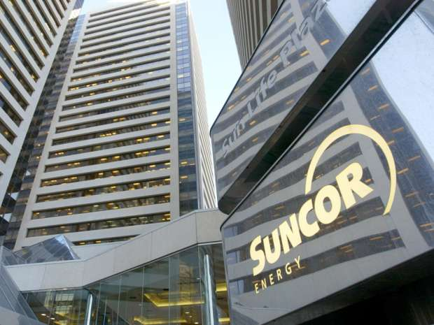 Suncor's head offices in downtown Calgary.