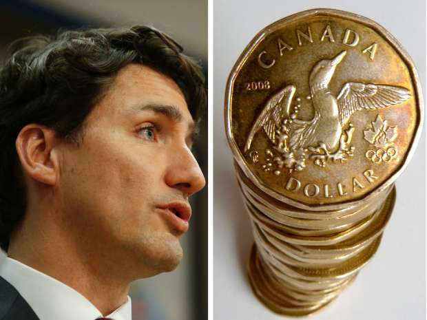 Newly installed Prime Minister Justin Trudeau is winning rave reviews at home and abroad, but that's not what is driving the loonie higher.